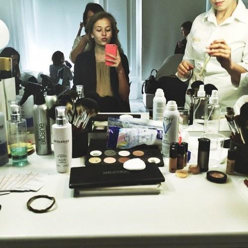 Дочь Веры Брежневой снялась в фотосессии для Vogue Украина