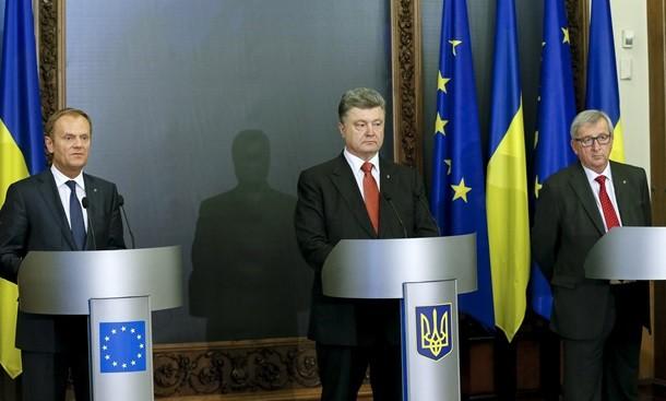 Невеселые итоги саммита Украина - ЕС