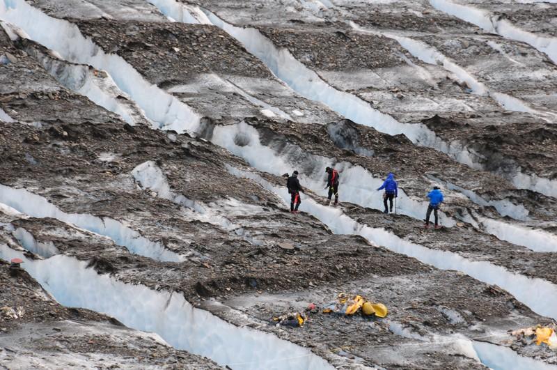 Самые сенсационные находки, обнаруженные в ледниках