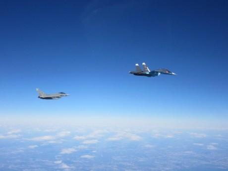ФОТО: Перехват ВВС НАТО российских самолетов над Балтикой