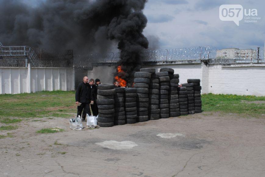 В Харькове готовятся к подавлению возможных бунтов в колонии