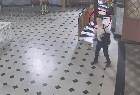 Злоумышленники обокрали храм в Киево-Печерской Лавре (ВИДЕО)