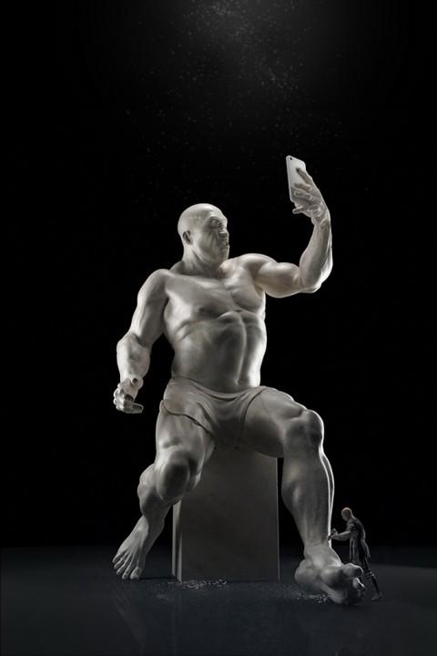 Талантливый парень соединил фотографию и 3D-моделирование