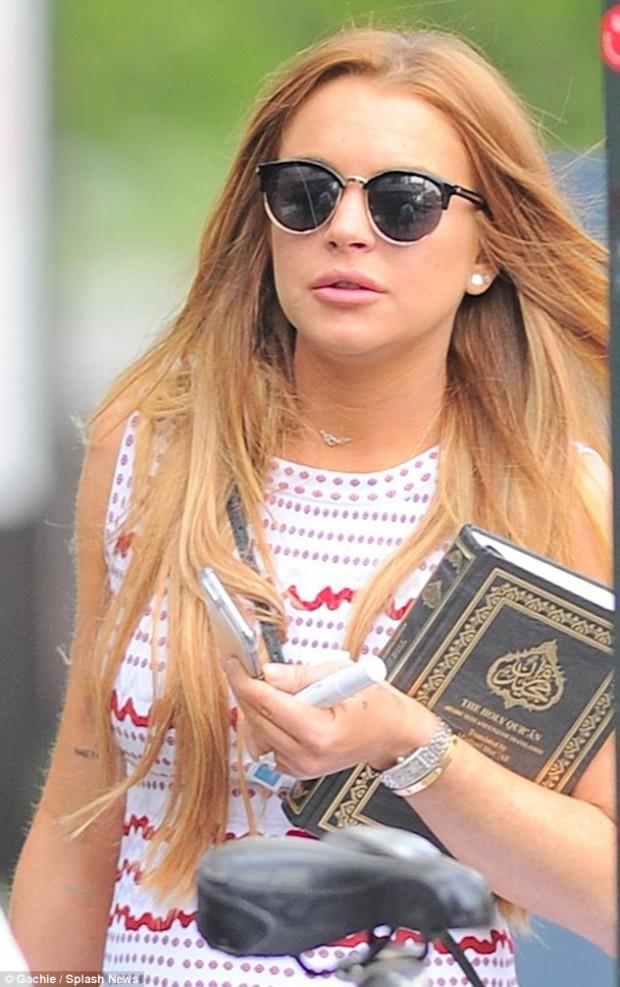 Линдсей Лохан приняла ислам?