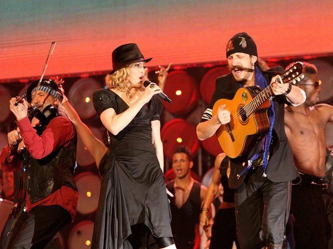Мадонна вдохновила украинский дуэт на любовь