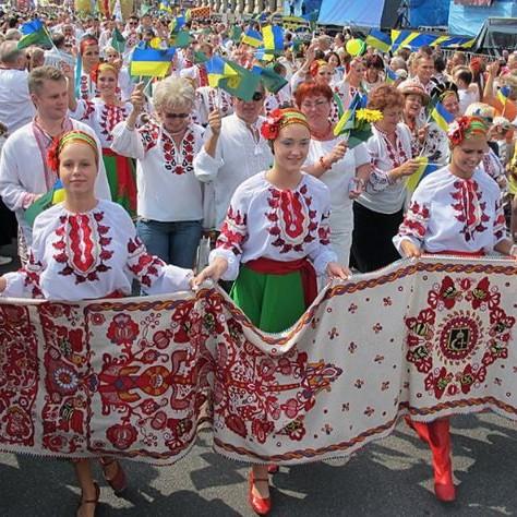 Сегодня Украина празднует День вышиванки