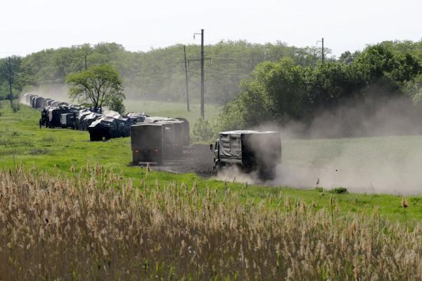 ФОТО: Армия РФ приближается к границе с Украиной
