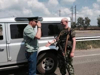 ФОТО: В зоне АТО воюет «двойник» Яценюка