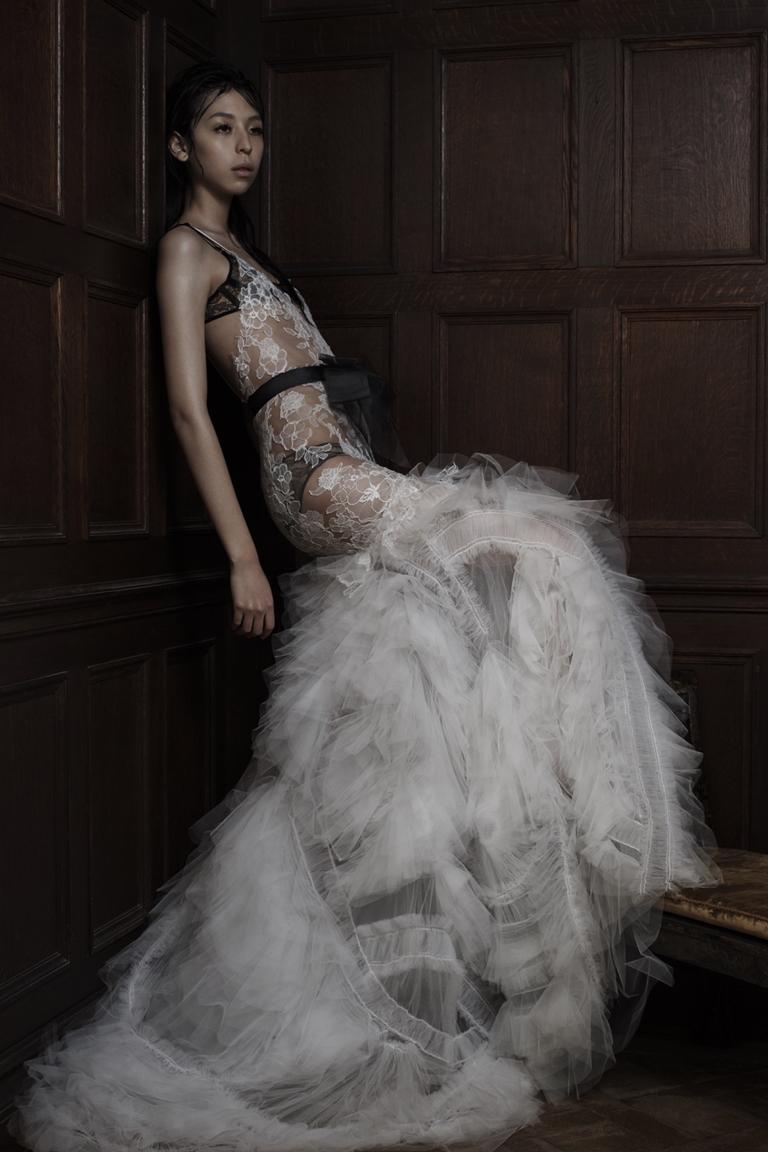 Wera Wong 2016. Свадебное платье или нижнее белье?Фото