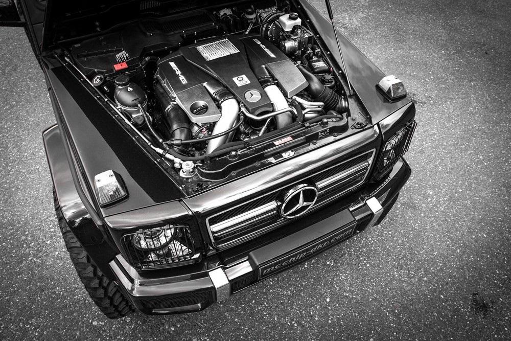 Из Mercedes-Benz G 63 AMG сделали монстра.ФОТО
