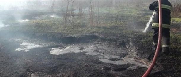 Под Киевом горят торфяники