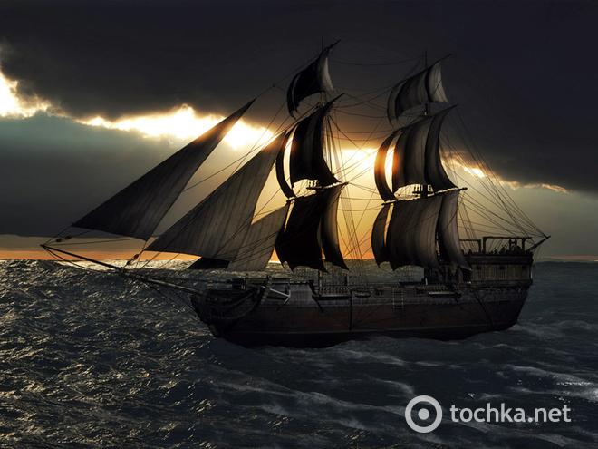 Загадочные корабли-призраки, о которых ходят легенды