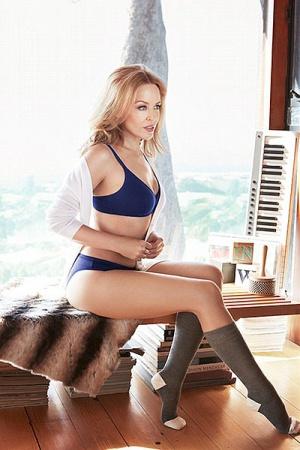 Кайли Миноуг покоряет своей красотой