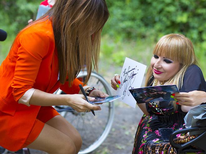 Ани Лорак приняла участие в благотворительном проекте