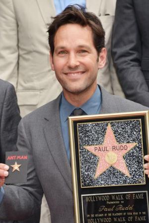 Пол Радд получил звезду на Аллее славы