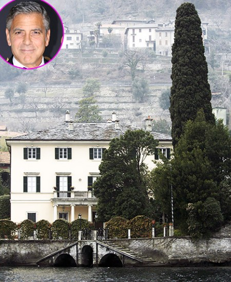 Джордж Клуни продает виллу в Италии
