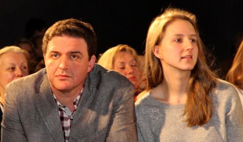 Максим Виторган отправил дочь учиться в Америку
