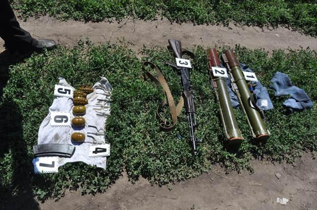 СБУ обнаружила на Днепропетровщине тайник с мощным оружием