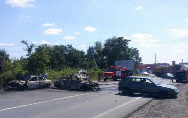 Теракт в Мукачево (ФОТО, ВИДЕО)