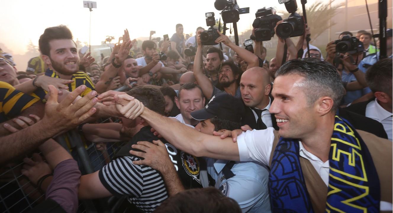 Ван Перси: Надеюсь, что сделаю фанов Фенербахче счастливыми