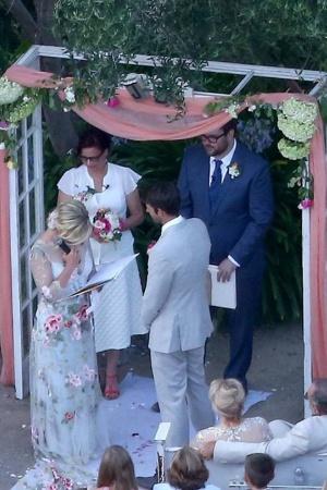 Свадебные фото Дженни Гарт