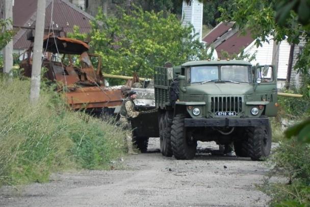 Фото: «Донбасс» увел БМП ДНР с полным боекомплектом