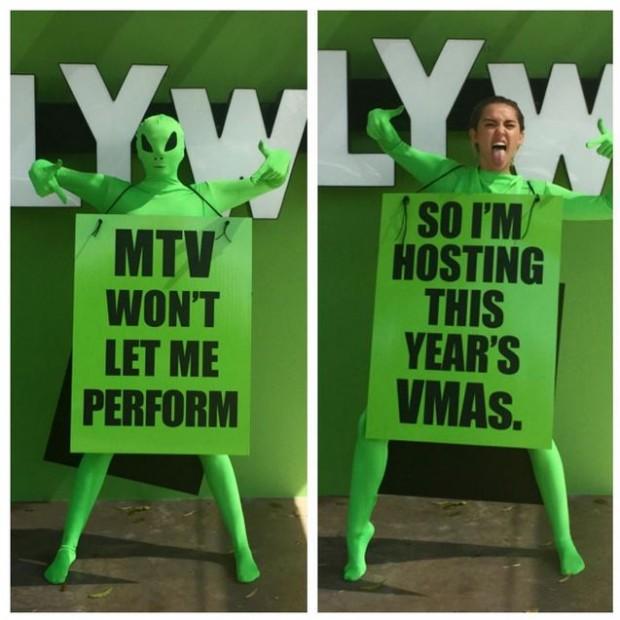 Майли Сайрус станет ведущей MTV Video Music Awards 2015