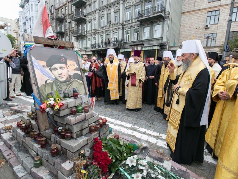 Фото: Крестный ход в Киеве: 20 тыс верующих УПЦ