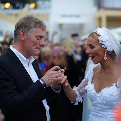 Свадьба Дмитрия Пескова и Татьяны Навки в Сочи (ФОТО)