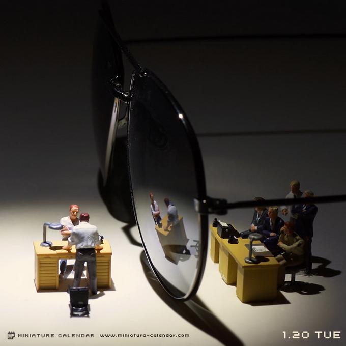 В Японии создали очень необычные миниатюры (ФОТО)