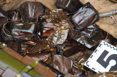 СБУ нашла на Закарпатье тайник с боеприпасами (ФОТО, ВИДЕО)