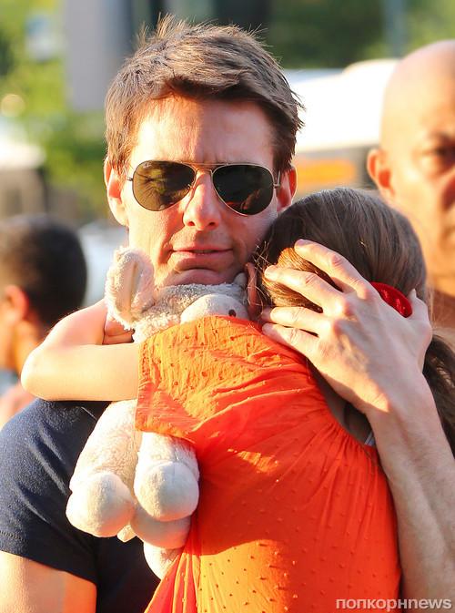 Том Круз встретился с дочерью Сури