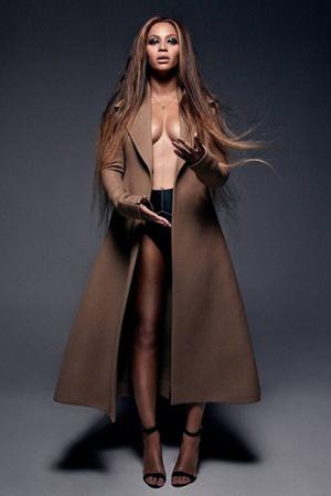 Неподражаемая Бейонсе на страницах Vogue