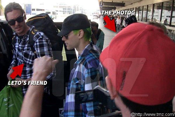 Джаред Лето задержан полицией в аэропорту Лос-Анджелеса