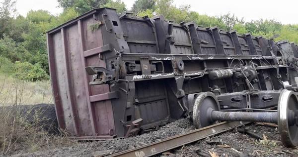 Вчерашний подрыв поезда организован спецслужбами РФ (ФОТО)