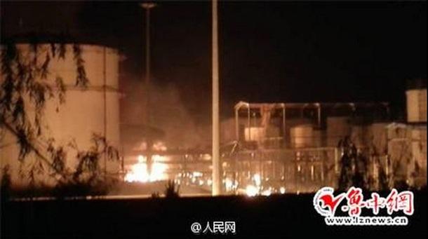 Техногенная катастрофа. В Китае взорвался химический завод