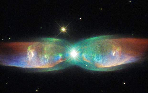 Мир смог увидеть крылья космической бабочки