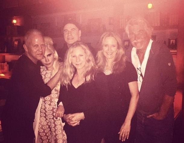 Леди Гага побывала в гостях у Барбары Стрейзанд (ФОТО)