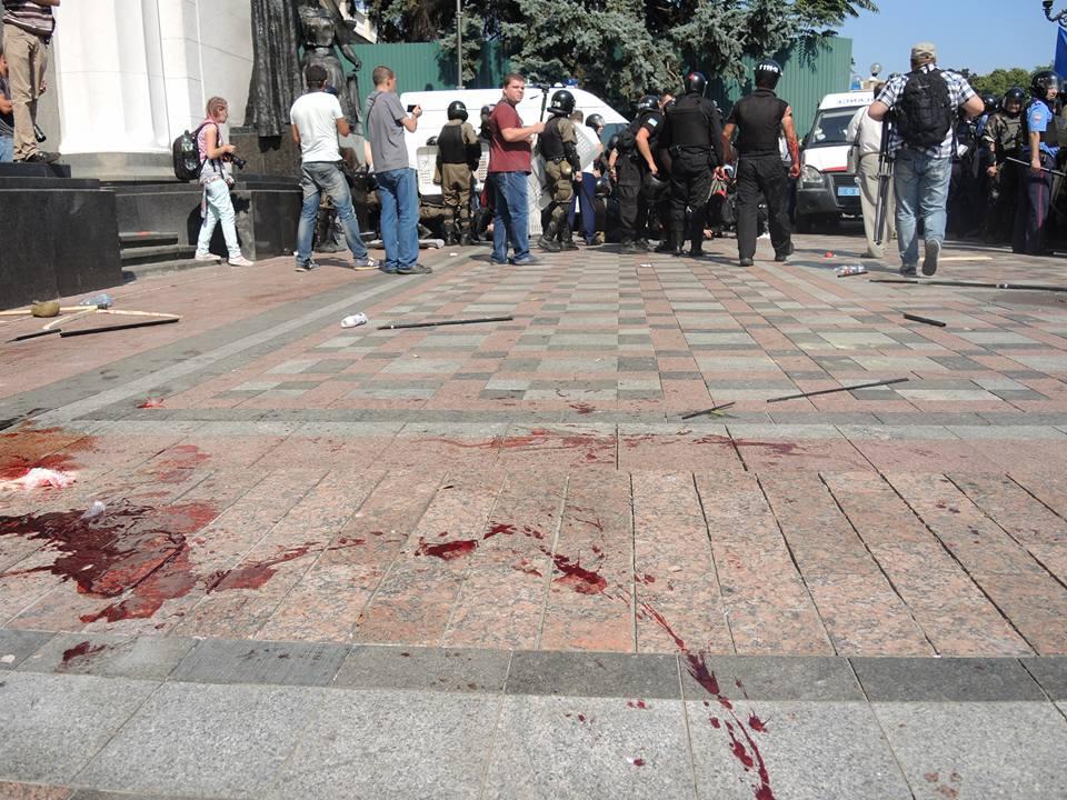 Хроника теракта под Радой в кровавый понедельник. ФОТО+ВИДЕО