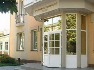 Взрыв в облпрокуратуре Ровно (ФОТО)