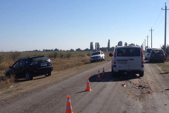 Масштабное ДТП под Одессой: пострадало 7 человек (ФОТО)