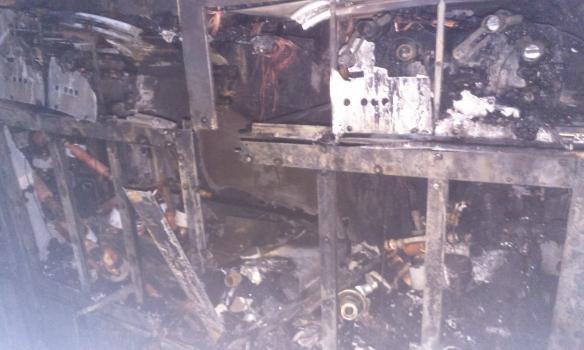 Фото: В Киеве на Арсенальной горел 20-этажный бизнес-центр