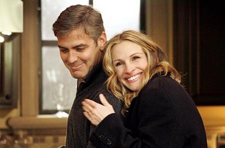 Джулия Робертс об отношениях с Джорджем Клуни (ФОТО)