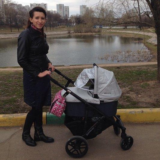 Елена Борщева впервые показала младшую дочь (ФОТО)