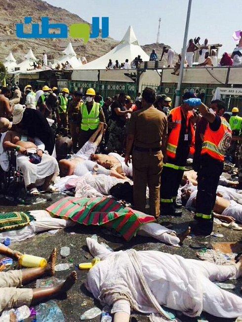 Трагедия Мекки: В давке погибли сотни паломников (ФОТО)