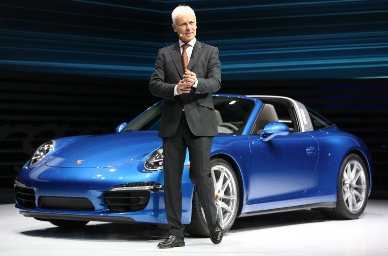 Новым главой Volkswagen стал генеральный директор Porsche