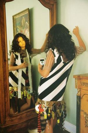 Селена Гомес в сентябрьском выпуске журнала Wonderland