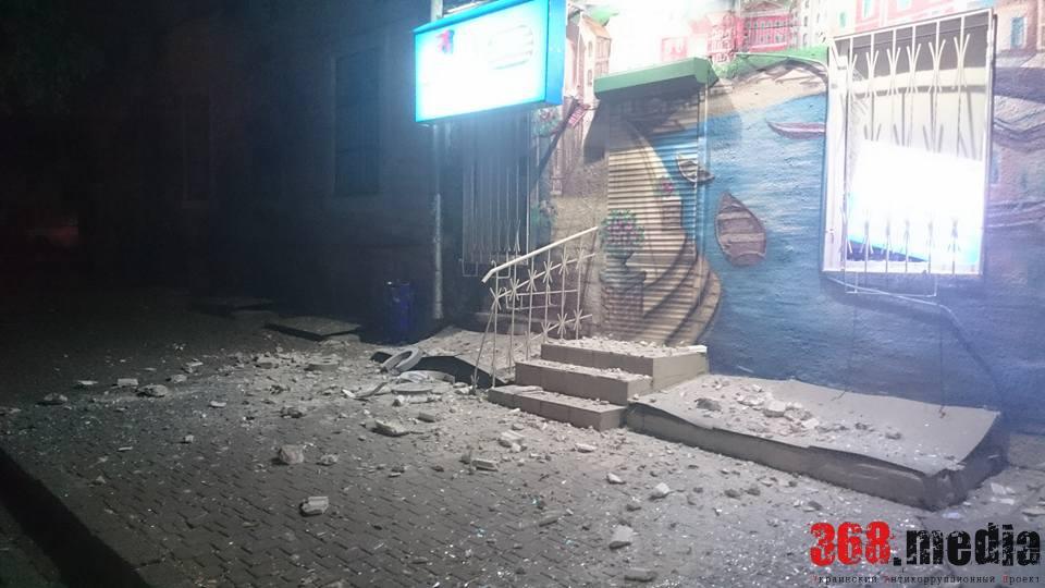 Самый сильный ночной взрыв в Одессе (ФОТО)