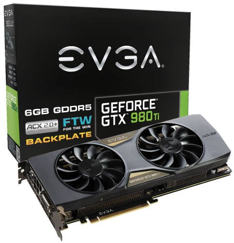 Видеокарта EVGA GeForce GTX 980 Ti FTW представлена