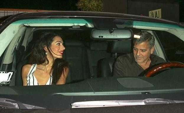 Джордж и Амаль Клуни отмечают юбилей семейной жизни (ФОТО)